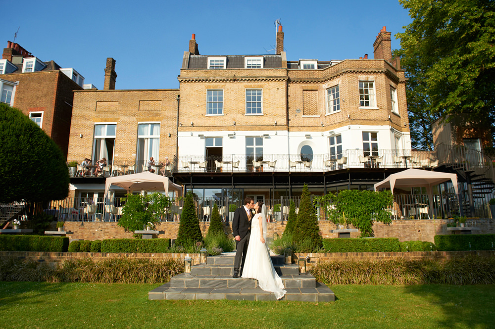Wedding at the Bingham Hotel in Richmond