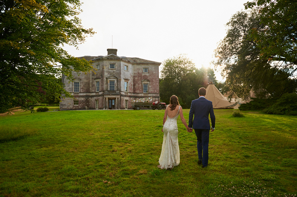 Wedding at Sharpham House in Devon
