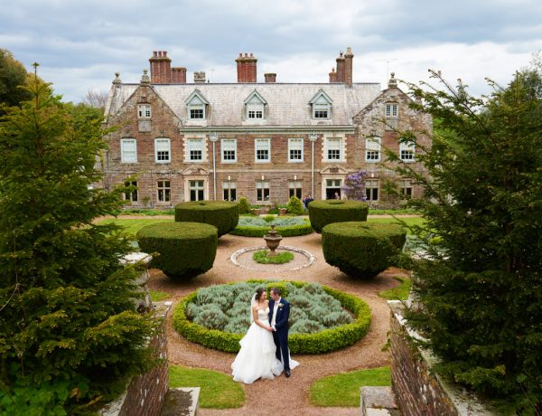 Beautiful wedding at Langdon Court in Devon